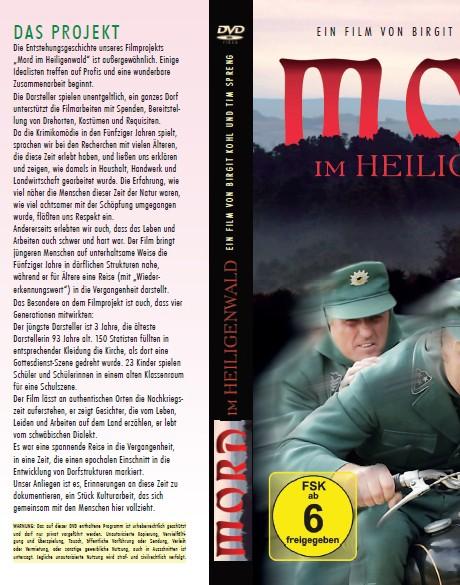 """DVD-Cover """"Mord im Heiligenwald"""""""