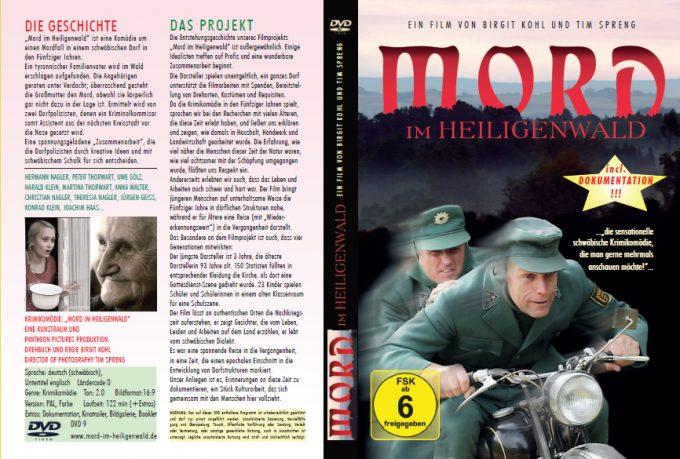 """DVD-Veröffentlichung """"Mord im Heiligenwald"""""""